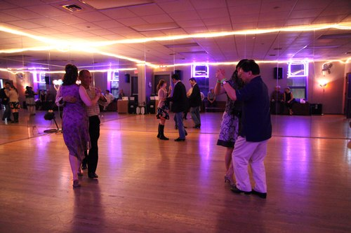 You Should Be Dancing 'Latin' Room 1/125, 2.0, ISO 6400