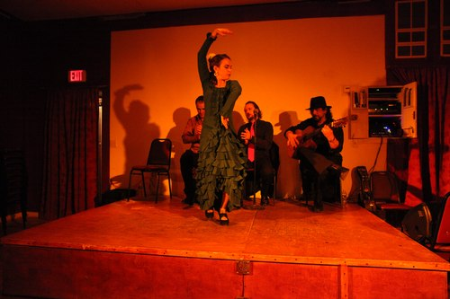 Alegrias Flamenco at La Nacional 1/125, 4.0, ISO 6400