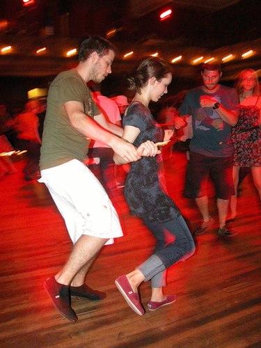 Lindy Hop at the Century Ballroom