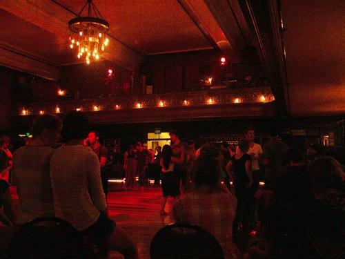 The Century Ballroom's main dance space
