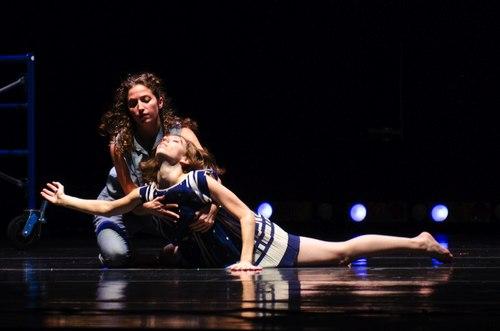 Sara Genoves-Sylvan and Sabrina Jaafar in <i>Bound</i>