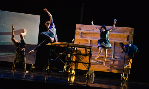 Dancers of Yaa Samar! Dance Theatre in <i>Bound</i>