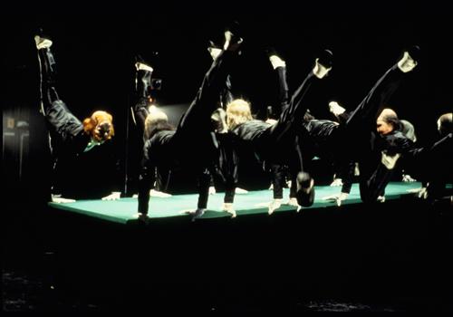 Joffrey Ballet dancers in Kurt Jooss' 'The Green Table'.