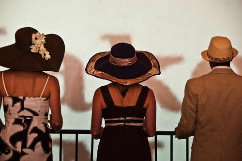 Julep Dancers: Brooks Owens, Christina Serafino and Gerren Mobley