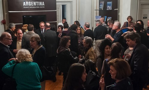 The reception at the 'Unveiling Motion and Emotion' book launch