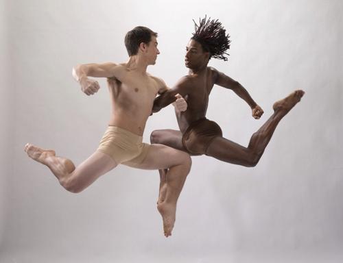 DK dancers Noah Trulock and Justin David Sears-Watson.