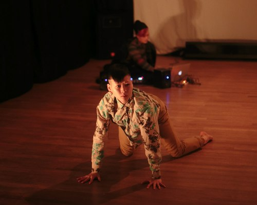 Return is choreographed and danced by Mei Yamanaka