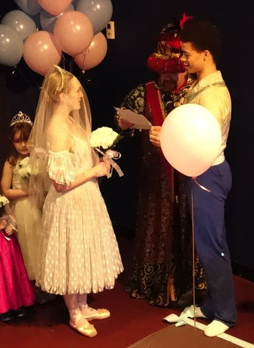 NYTB's Cinderella's wedding to Prince Charming (detail)