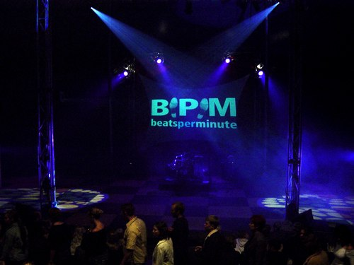 At a BPM beatsperminute performance at the Adelaide Fringe Festival, Australia.