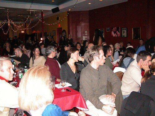 Flamenco at Alegrias - The packed audience