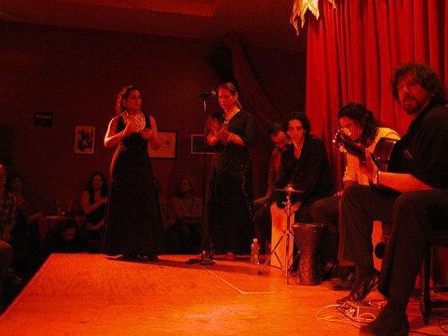 Flamenco at Alegrias