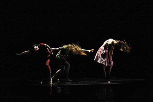 GroundWorks DanceTheater dancers in Rosie Hererra's 'House Broken'.
