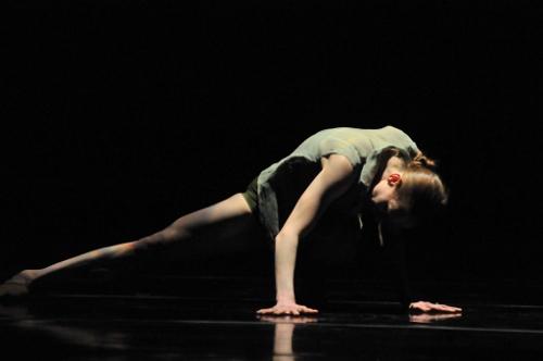 GroundWorks DanceTheater dancer in Rosie Hererra's 'House Broken'.