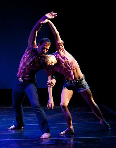 Dance Kaleidoscope dancers in 'Kings & Queens of Country'.