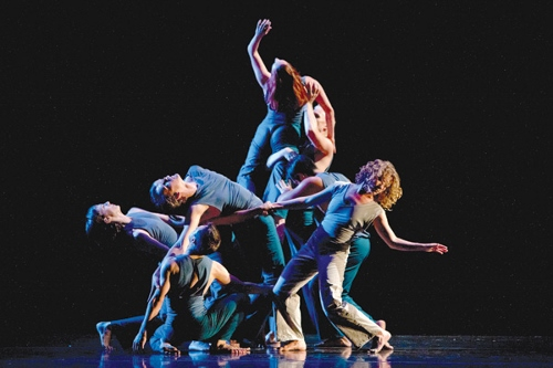 Margaret Jenkins Dance Company in 'Times Bone'. Photo Courtesy of Margaret Jenkins Dance Company.