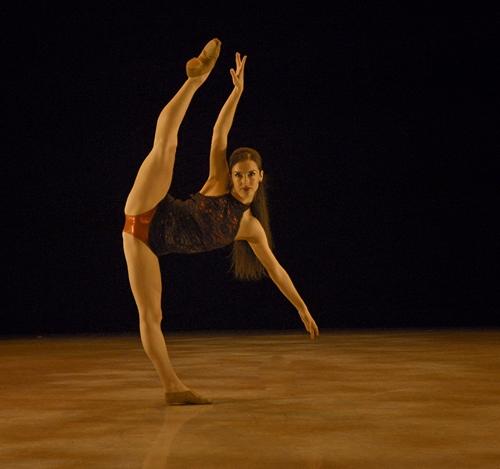 'Never Loved a Man' choreographed by Kirsten Schwartz, performed by Caitlin Schwartz.