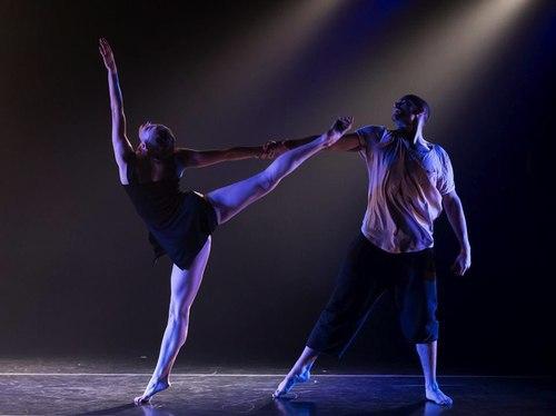 Asya Zlatina and Kevan Sullivan in The Koresh Dance Company's 'Promises'