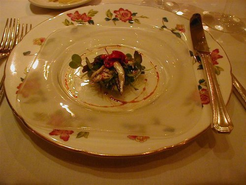 Anchovy Appetizer Starter