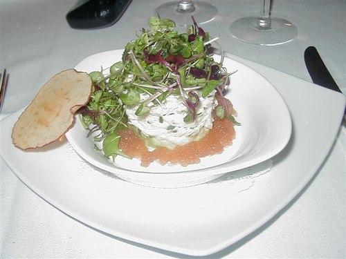Jonah Crab and Caviar Appetizer