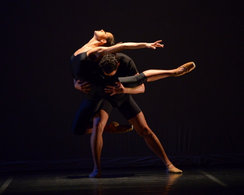 Chamber Dance Project dancers Francesca Dugarte and Luis R. Torres in Diane Coburn Bruning's 'Berceuse'.