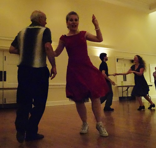Philadelphia Swing Dance Society party - accomplished dancers having a great time