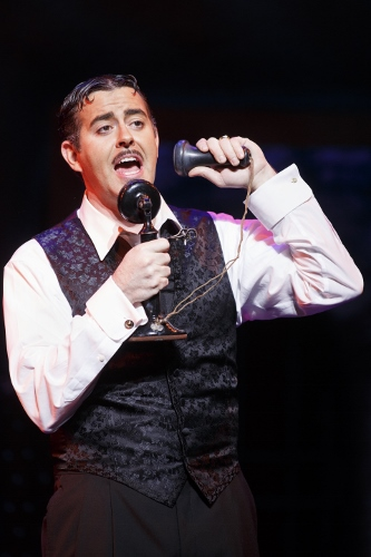 Jesse Sharp as Gomez Addams in the 2013-2014 National Tour of The Addams Family.