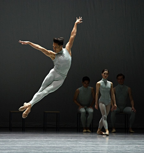 John Lam in Forsythe's 'The Second Detail.'