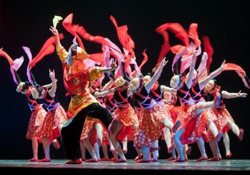 Photo courtesy of Jiangxi Zhongshan Dance School