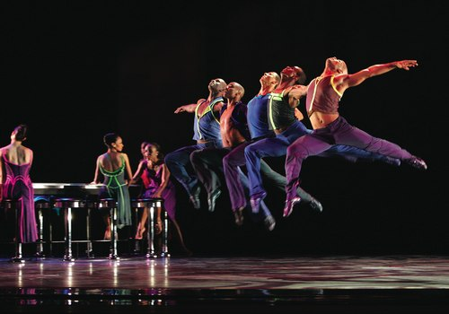 Ailey Company Members in Reminiscin' by Judith Jamison