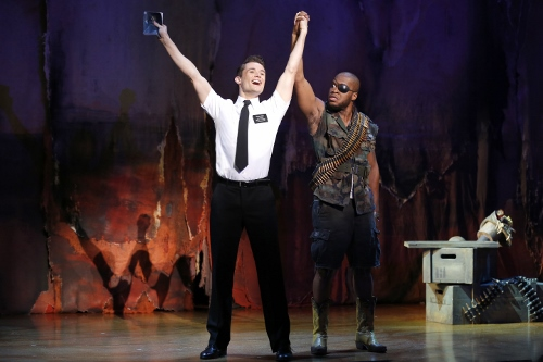 Mark Evans, Derrick Williams THE BOOK OF MORMON First National Tour