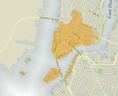 NYC Council District 1 map (Credit: <a href='http://council.nyc.gov/d1/html/members/map.shtml' target='_blank'>http://council.nyc.gov/d1/html/members/map.shtml</a>)