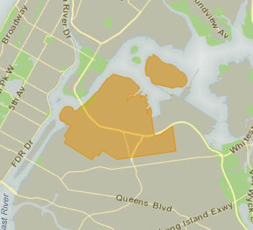 NYC Council District 22 map (Credit: <a href='http://council.nyc.gov/d22/html/members/map.shtml'target='_blank'>http://council.nyc.gov/d22/html/members/map.shtml</a>)