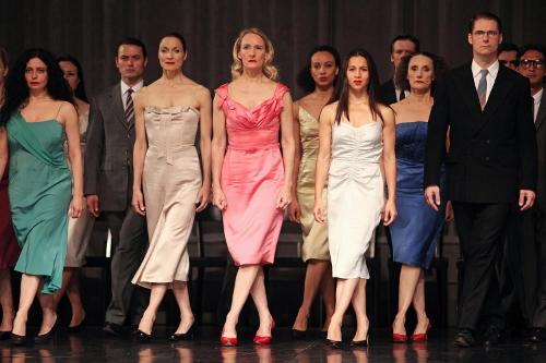 Tanztheater Wuppertal in Pina Bausch's 'Kontakthof' - BAM Howard Gilman Opera House Brooklyn, N.Y. October 22, 2014