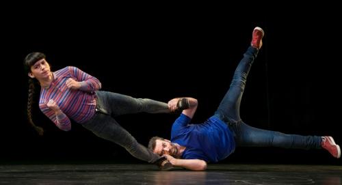 Lux Aeterna Dance Company's Teresa Barcelo and Jacob Lyons.
