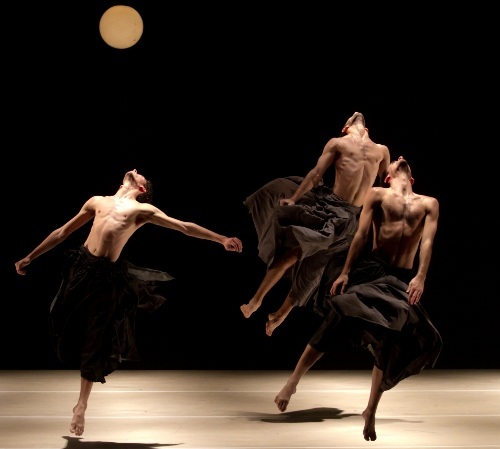 A scene from Rami Be'er's 'If At All,' performed by Kibbutz Contemporary Dance Company