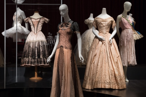 Installation view of Dance & Fashion. Photograph © The Museum at FIT, New York.