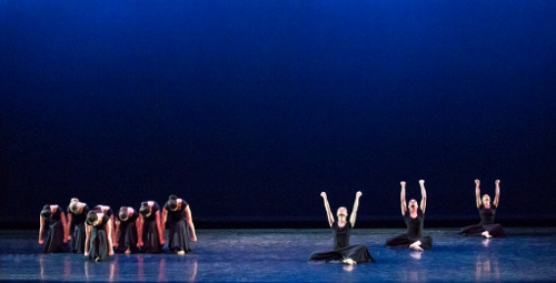 Martha Graham Dance Company in 'Steps in the Street' from 'Chronicle'.