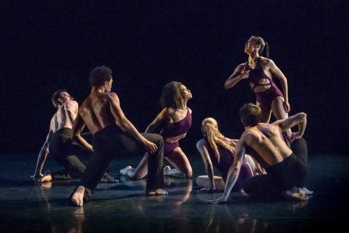Martha Graham Dance Company in Sonya Tayeh's 'Lamentation Variation'.