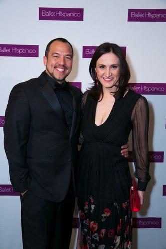 Eduardo Vilaro and Michelle Caruso-Cabrera