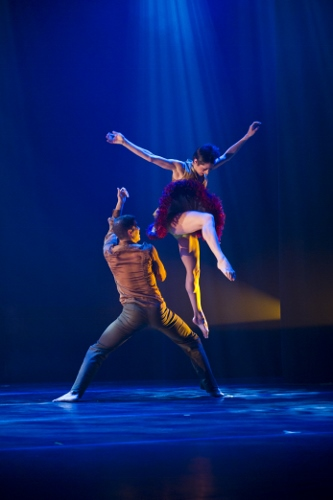 Ballet Hispanico in 'Asuka.'
