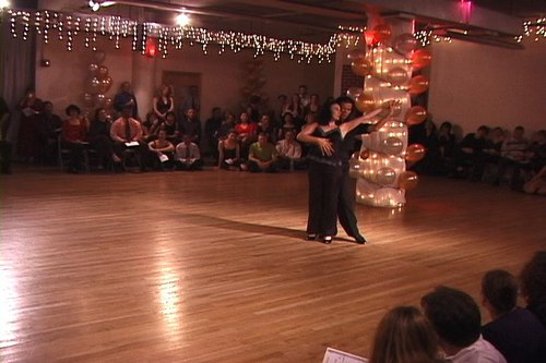 Stepping Out Studios Holiday Gala 2006 Sarah La Rocca & George Ciao dance Argentine Tango