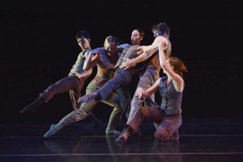 GroundWorks DanceTheater in Eric Michael Handman's 'Remora.' Photo courtesy of GroundWorks DanceTheater.