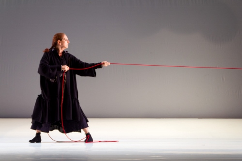 Beth Corning in CorningWork's The Glue Factory Project: 'Beckett & Beyond.'