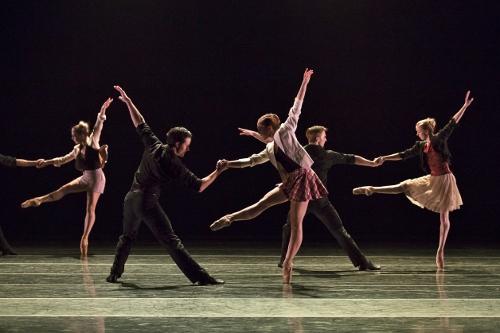 BalletMet dancers in James Kudelka's 'Girls Just Wanna Have Fun.'