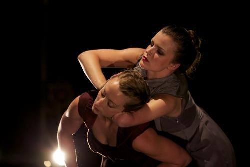 Julie Crothers and Sophie Stanley in Sonya Delwaide's 'Dix minutes plus tard.'