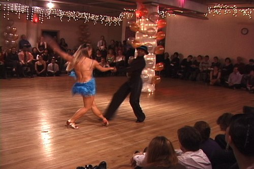 Stepping Out Studios Holiday Gala 2006 Joanna Zacharewicz & Emmanuel Pierre-Antoine dance Swing