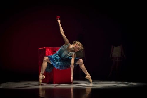 Grand Rapids Ballet dancer Grace Haskins in Annabelle Lopez Ochoa's 'Dangerous Liaisons.'