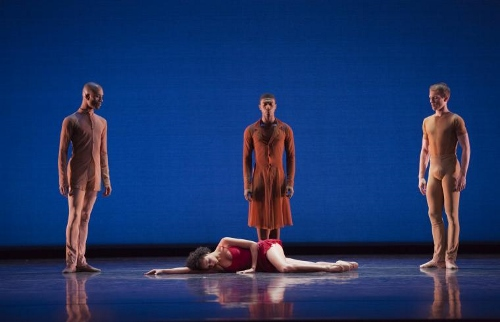 Dance Theatre of Harlem in Christopher Huggins' 'In the Mirror Her Mind.'