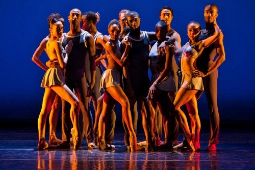 Dance Theatre of Harlem in Robert Garland's 'Return.'