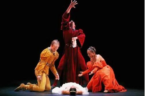 Limon Dance Company in Jose Limon's 'The Moor's Pavane.'